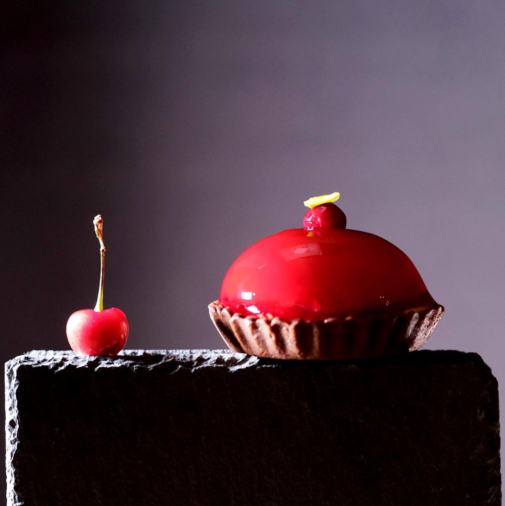 木村屋新作スリジェロゼというケーキ